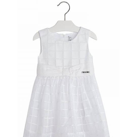 85bdec87be MAYORAL Sukienka dziewczęca - biała-223150