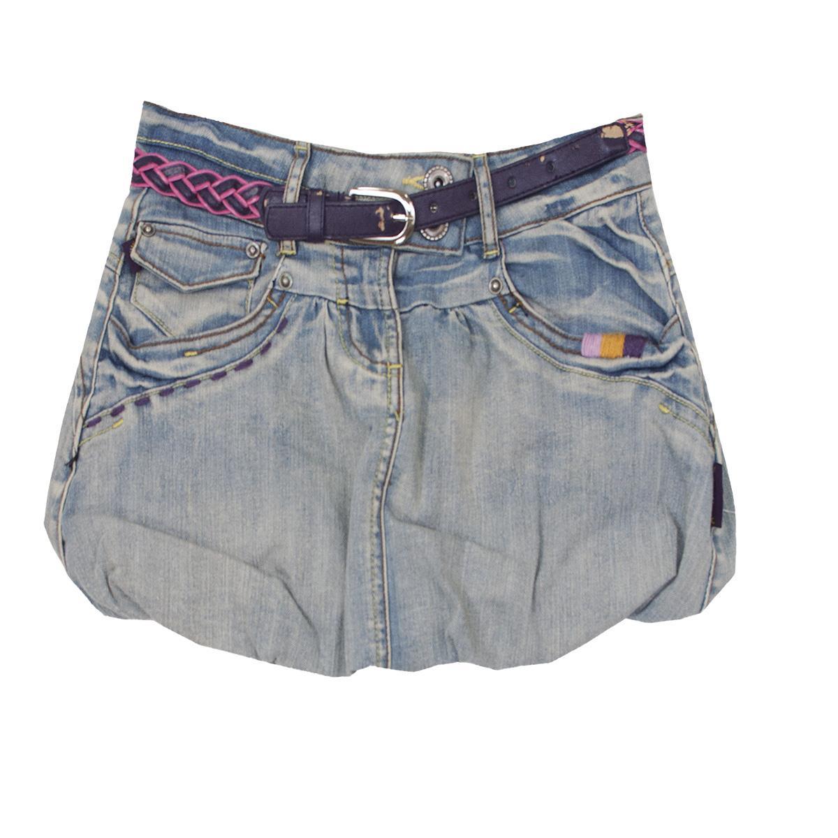 084451cc WÓJCIK Spódnica jeans Etniczny duch