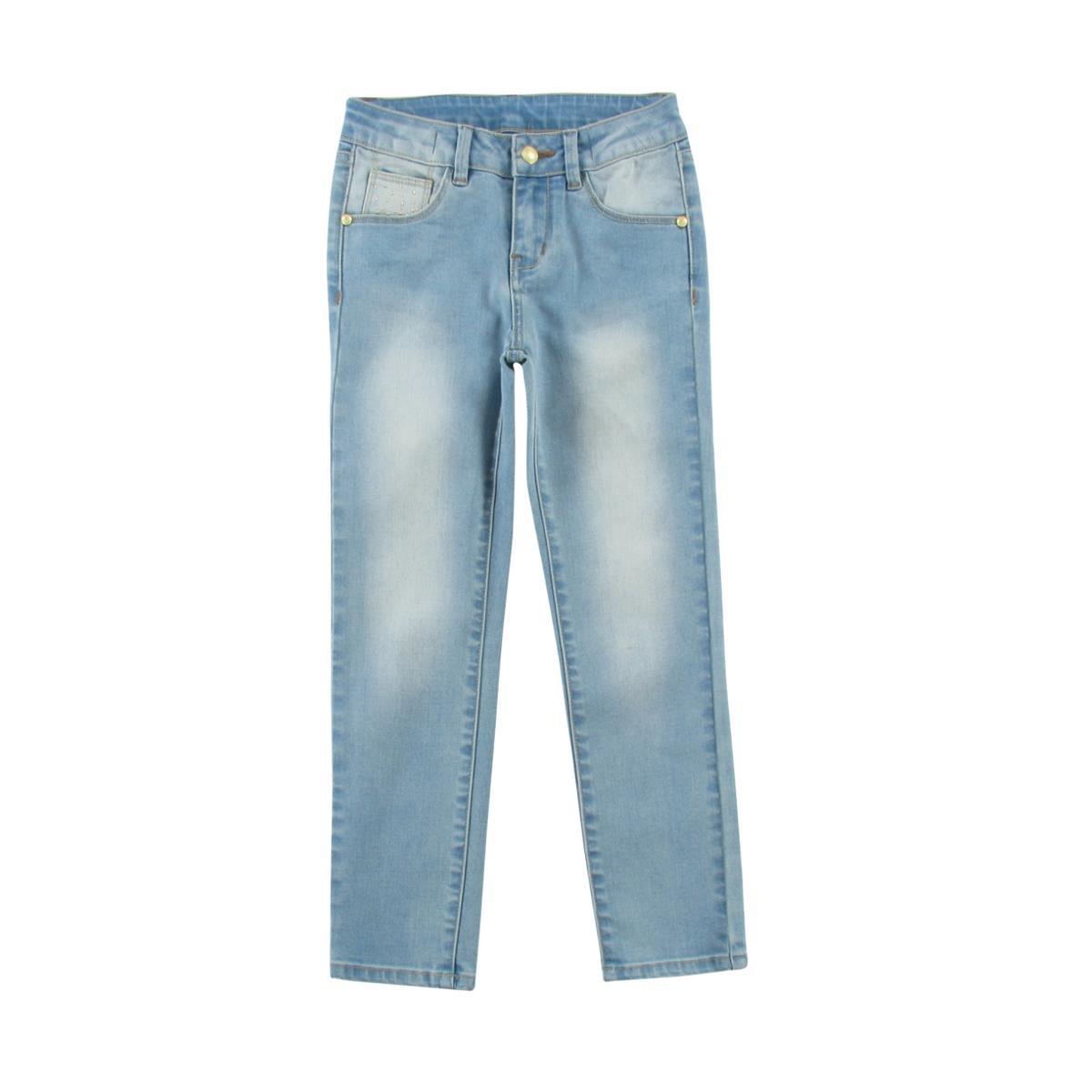 acbbbe8b040cc WÓJCIK Spodnie jeans dziewczęce-47394 ...